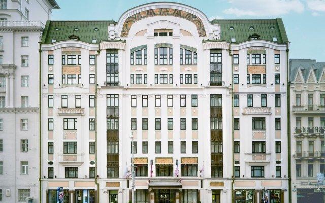 Гостиница Марриотт Москва Тверская в Москве - забронировать гостиницу Марриотт Москва Тверская, цены и фото номеров вид на фасад