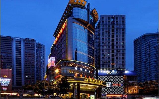 Отель HONGFENG Гонконг вид на фасад
