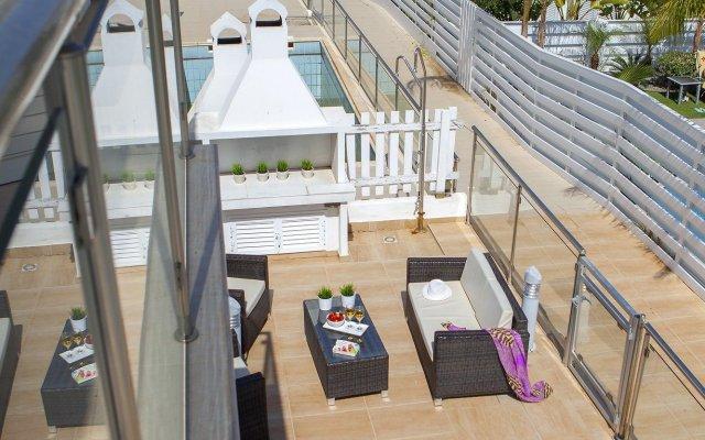 Отель Athina Villa 8 Кипр, Протарас - отзывы, цены и фото номеров - забронировать отель Athina Villa 8 онлайн вид на фасад