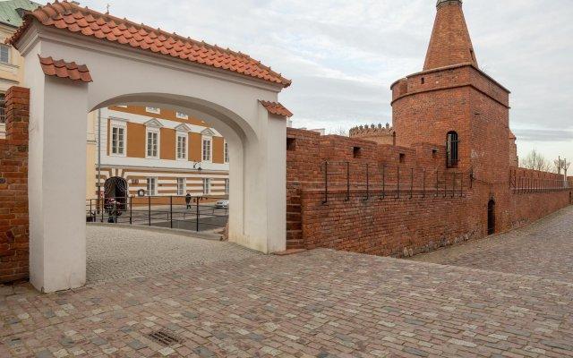 Апартаменты Adele Old Town Apartment Варшава вид на фасад