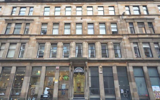 Отель City Centre Suite George Square Великобритания, Глазго - отзывы, цены и фото номеров - забронировать отель City Centre Suite George Square онлайн вид на фасад