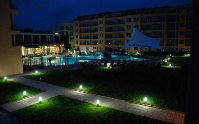 Отель Pollo Resort Солнечный берег вид на фасад