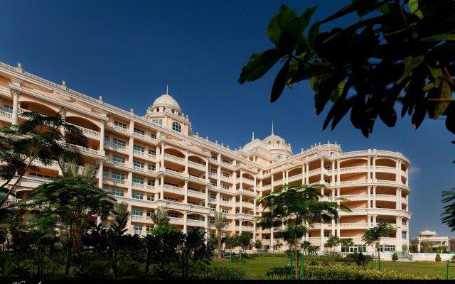 Kempinski Hotel & Residences Palm Jumeirah вид на фасад