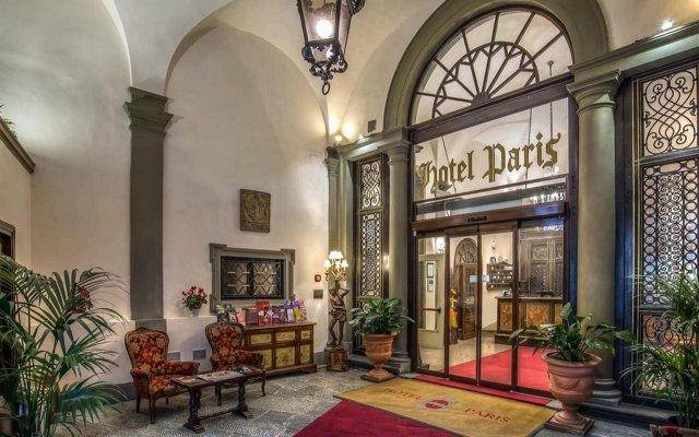 Отель Paris Италия, Флоренция - - забронировать отель Paris, цены и фото номеров вид на фасад
