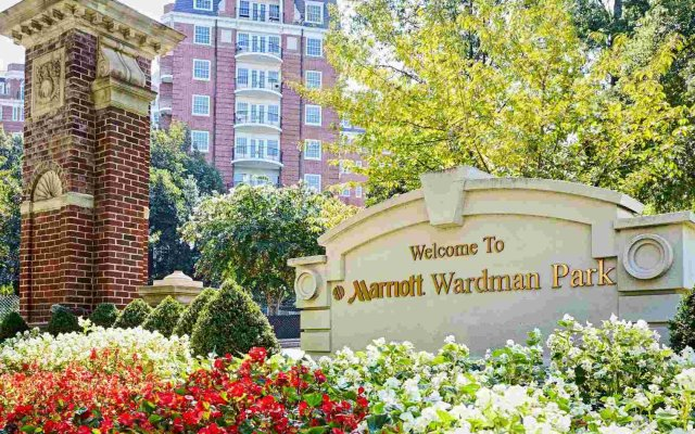 Отель Washington Marriott Wardman Park вид на фасад
