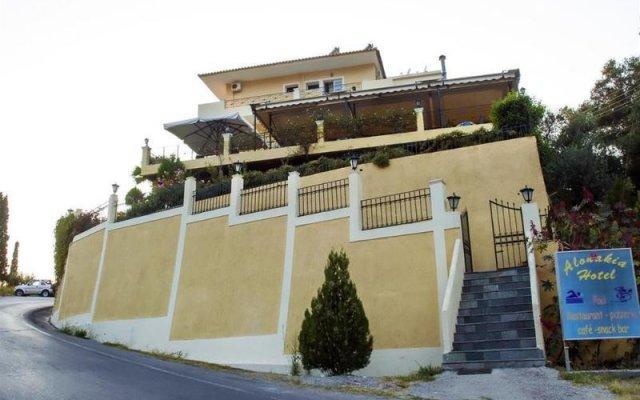Alonakia Hotel вид на фасад