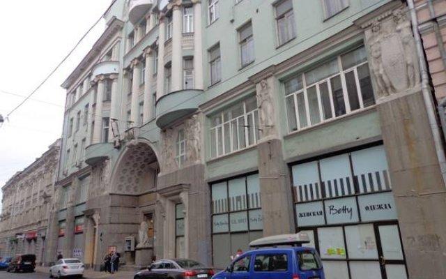 San Francisco Hostel Москва вид на фасад