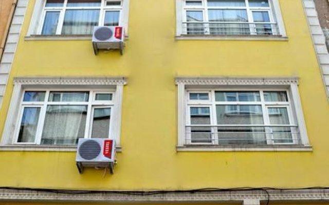 Отель The Suite Istanbul вид на фасад