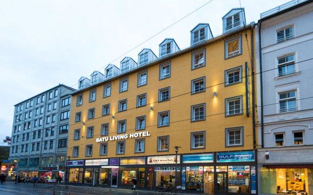BATU Apart Hotel вид на фасад