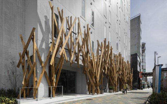 Отель ONE @ Tokyo вид на фасад