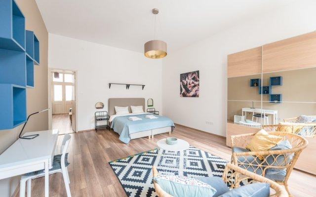 Отель Oasis Apartments Corvin I Венгрия, Будапешт - отзывы, цены и фото номеров - забронировать отель Oasis Apartments Corvin I онлайн комната для гостей