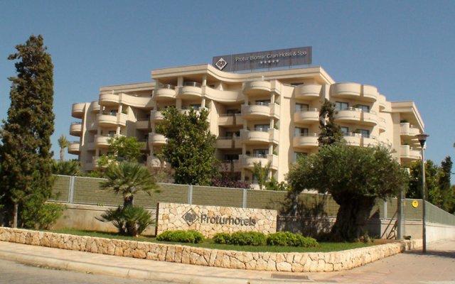 Protur Biomar Gran Hotel & Spa вид на фасад