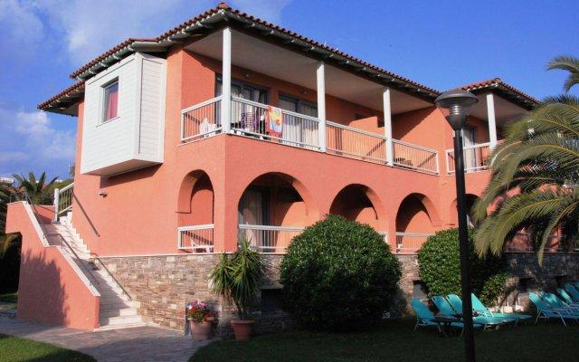 Отель Hanioti Village Resort Греция, Ханиотис - отзывы, цены и фото номеров - забронировать отель Hanioti Village Resort онлайн вид на фасад