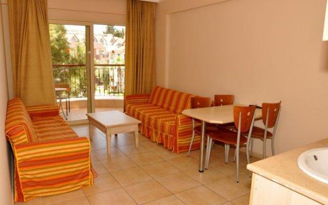 Club Dena Apartments Турция, Мармарис - отзывы, цены и фото номеров - забронировать отель Club Dena Apartments онлайн комната для гостей