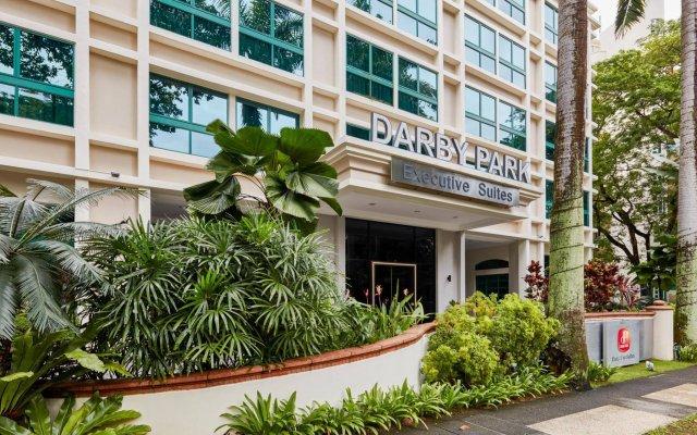 Апартаменты Orange Grove Service Apartment by ST Residences вид на фасад
