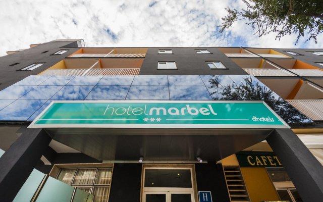 Hotel Marbel вид на фасад