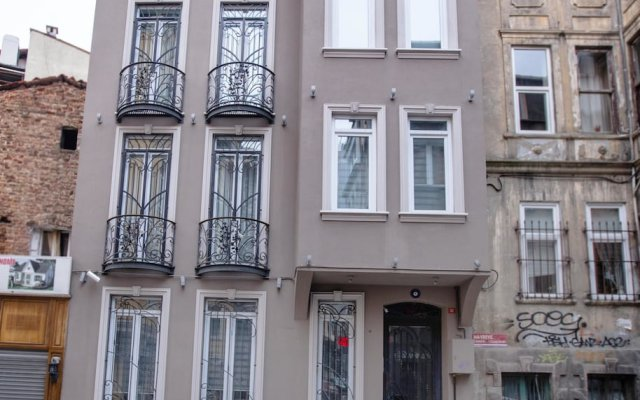Апартаменты Flats Company- Firuze Apartment вид на фасад