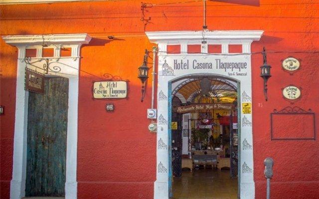 Отель Casona Tlaquepaque Temazcal y Spa вид на фасад
