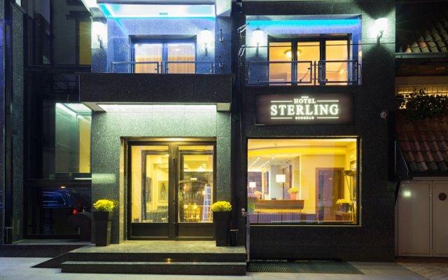 Отель Sterling Garni Сербия, Белград - отзывы, цены и фото номеров - забронировать отель Sterling Garni онлайн вид на фасад