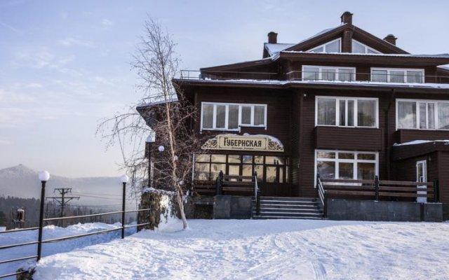 Гостиница Губернская в Шерегеше отзывы, цены и фото номеров - забронировать гостиницу Губернская онлайн Шерегеш вид на фасад