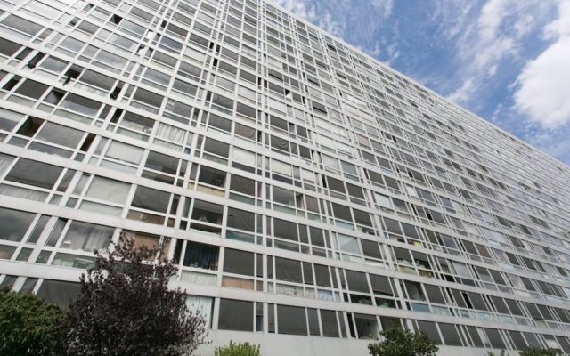 Апартаменты 1 Bedroom Apartment Paris Montparnasse вид на фасад