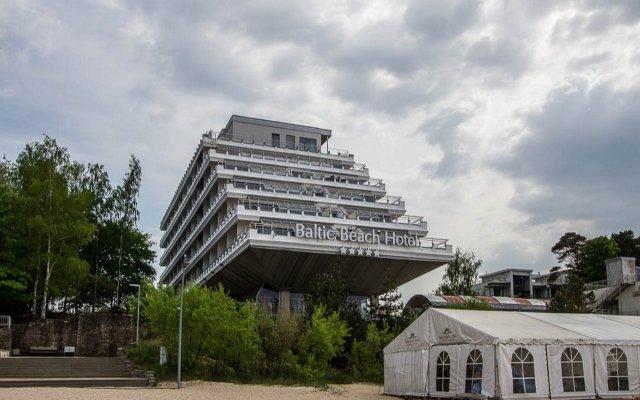 Baltic Beach Hotel & SPA вид на фасад