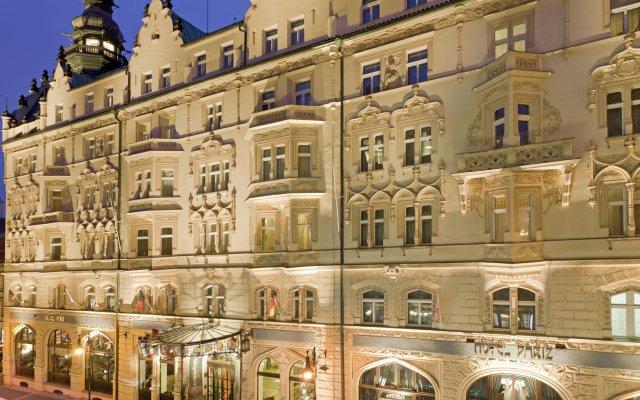 Hotel Paris Prague вид на фасад