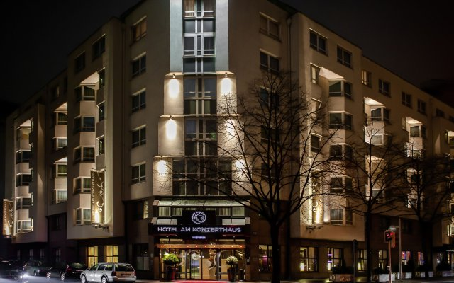 Отель Am Konzerthaus Vienna - MGallery by Sofitel Австрия, Вена - 10 отзывов об отеле, цены и фото номеров - забронировать отель Am Konzerthaus Vienna - MGallery by Sofitel онлайн вид на фасад