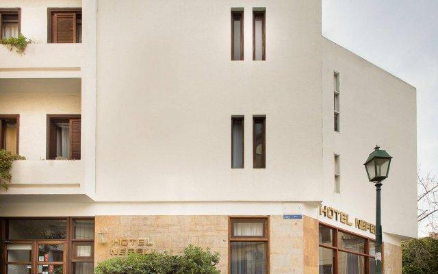 Отель Nefeli Hotel Греция, Афины - отзывы, цены и фото номеров - забронировать отель Nefeli Hotel онлайн вид на фасад