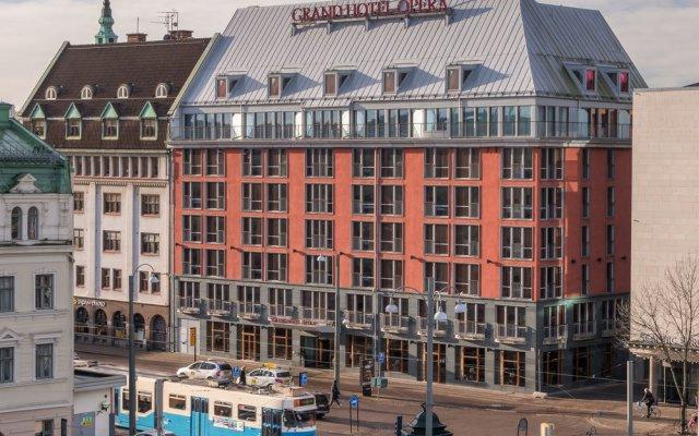 Отель Opera Швеция, Гётеборг - 2 отзыва об отеле, цены и фото номеров - забронировать отель Opera онлайн вид на фасад