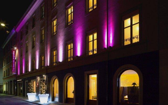 Отель La Cour Des Augustins Boutique Gallery Design Hotel Швейцария, Женева - отзывы, цены и фото номеров - забронировать отель La Cour Des Augustins Boutique Gallery Design Hotel онлайн вид на фасад