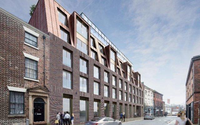 Seel Street Hotel by EPIC вид на фасад