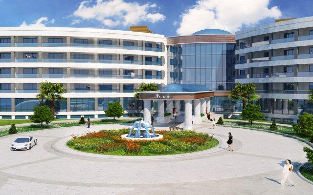 Отель Aquasis Deluxe Resort & Spa - All Inclusive вид на фасад