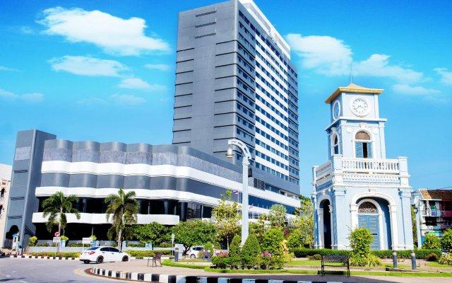 Отель Metropole Hotel Phuket Таиланд, Пхукет - отзывы, цены и фото номеров - забронировать отель Metropole Hotel Phuket онлайн вид на фасад