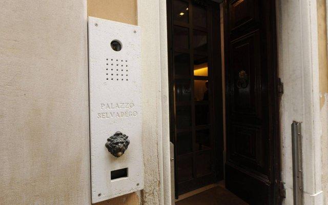 Отель Palazzo Selvadego вид на фасад