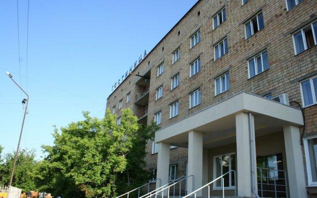 Отель Берега Красноярск вид на фасад