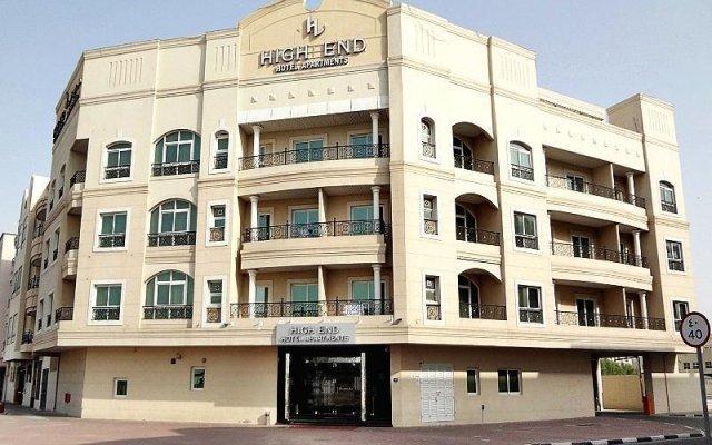 Отель High End Hotel Apartments ОАЭ, Дубай - отзывы, цены и фото номеров - забронировать отель High End Hotel Apartments онлайн вид на фасад