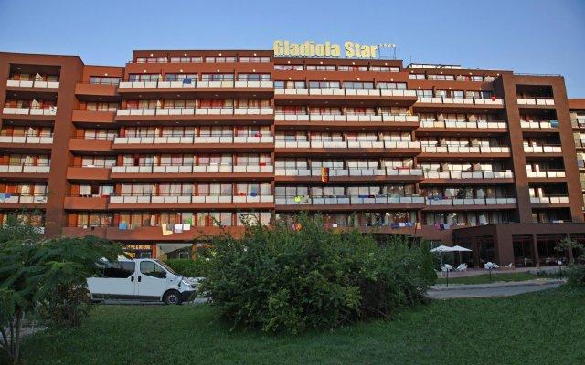 Отель Gladiola Star Болгария, Золотые пески - отзывы, цены и фото номеров - забронировать отель Gladiola Star онлайн вид на фасад