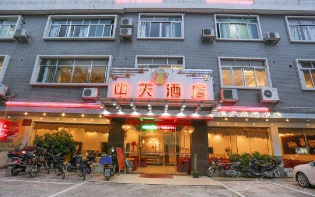 Zhengfei Hostel вид на фасад