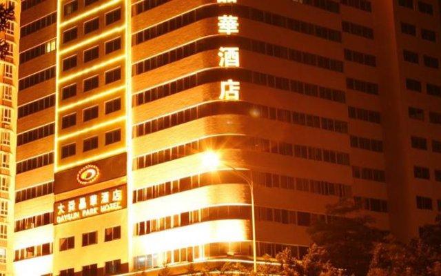 Daysun Park Hotel вид на фасад