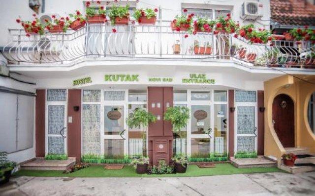 Отель Hostel Kutak Сербия, Нови Сад - отзывы, цены и фото номеров - забронировать отель Hostel Kutak онлайн вид на фасад