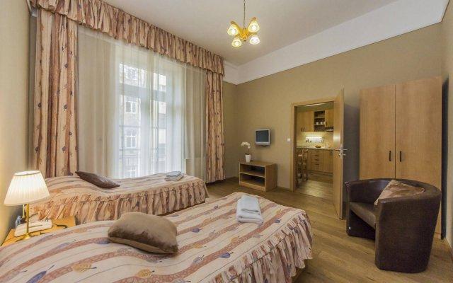 Отель Aparthotel Lublanka комната для гостей