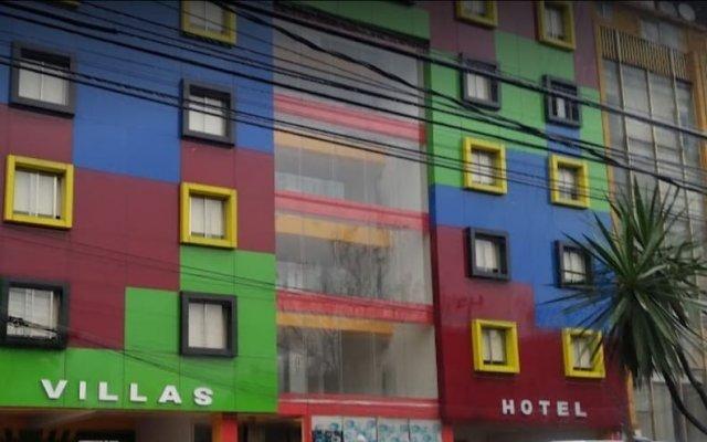 Hotel Un Amor Мехико вид на фасад