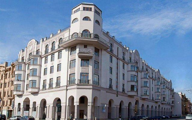 Отель Северный Модерн Санкт-Петербург вид на фасад