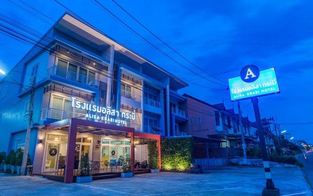 Отель Alisa Krabi Hotel Таиланд, Краби - отзывы, цены и фото номеров - забронировать отель Alisa Krabi Hotel онлайн вид на фасад