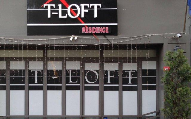 Отель T-Loft Residence вид на фасад