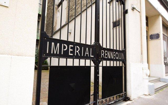 Отель Residhotel Impérial Rennequin вид на фасад