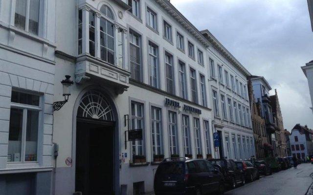 Отель Patritius Бельгия, Брюгге - отзывы, цены и фото номеров - забронировать отель Patritius онлайн вид на фасад