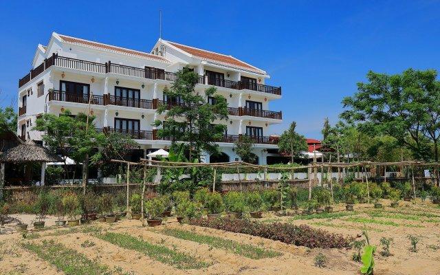 Отель Hoi An Odyssey Hotel Вьетнам, Хойан - 1 отзыв об отеле, цены и фото номеров - забронировать отель Hoi An Odyssey Hotel онлайн вид на фасад