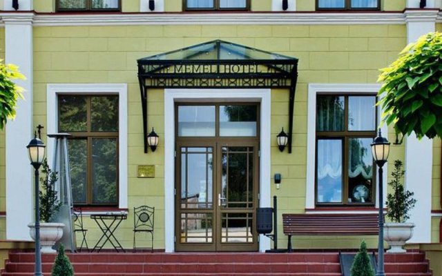 Отель «Мемель» Литва, Клайпеда - 7 отзывов об отеле, цены и фото номеров - забронировать отель «Мемель» онлайн вид на фасад